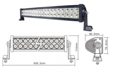 LED балка 120w combo Epistar