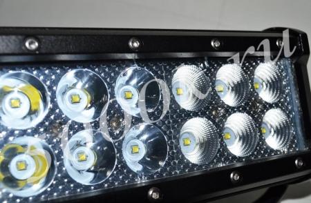LED фара 54w combo_4