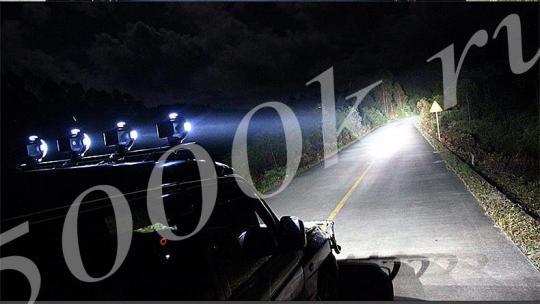 """Фара-прожектор HID 35w """"4"""" Дальнего света"""