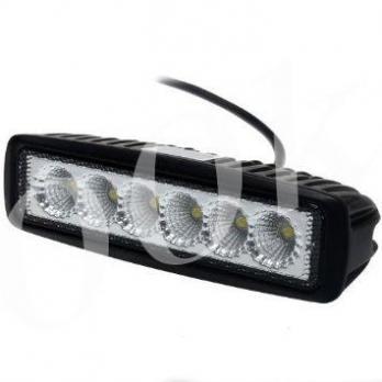 LED фара 18w ближнего света