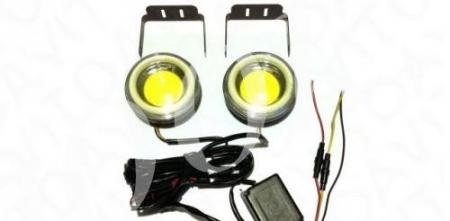 LED фара 10w 70мм 2режима (2шт)_0