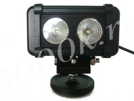 LED фара 20w cree ближнего света 14см