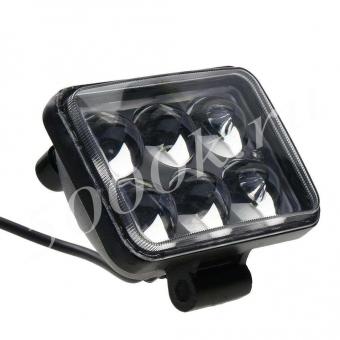 LED фара 18w 4D_0