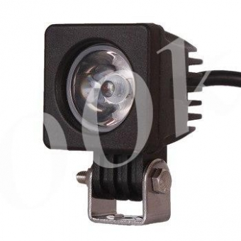LED фара 10w дальнего света 52мм