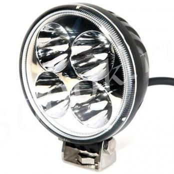 LED фара 12w 82мм дальнего света