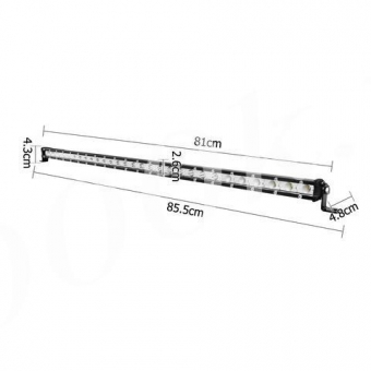 LED балка 90w slim combo_4
