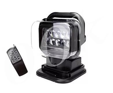 Фара-искатель LED 50w с пультом 12/24v_0