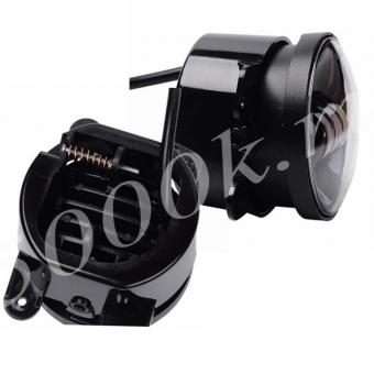 Led фара ПТФ 18w black (комплект)