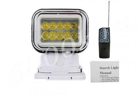 Фара-искатель LED 50w с пультом 12/24v Белый_2