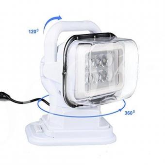 Фара-искатель LED 50w с пультом 12/24v Белый