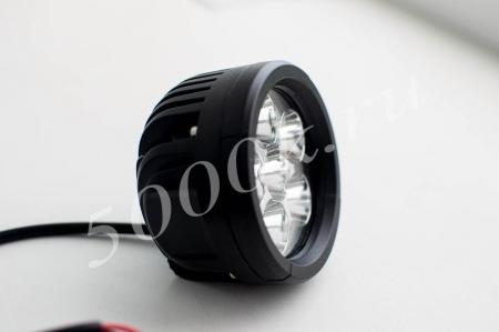 LED фара 18w 89мм ближнего света