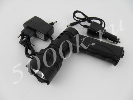 Фара-искатель LED 10w на аккумуляторе 1010_1