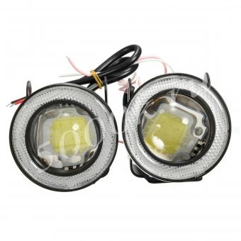 LED фара 10w 95мм 2режима (2шт)