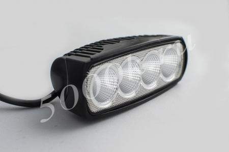 LED фара 20w ближнего света 1012