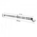LED балка 108w slim combo