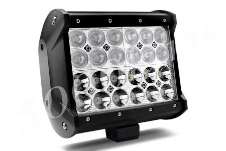 Светодиодный прожектор 72w combo 16см