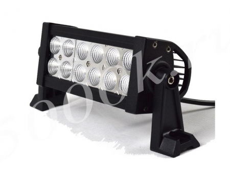 LED фара 36w Flood Epistar 26см