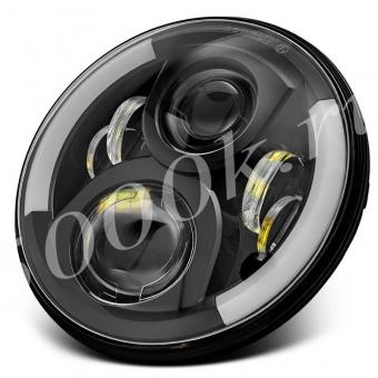 LED фара головного света JH07 BLACK_1