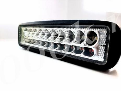 LED фара 30w 2режима Белый+Красный SPOT