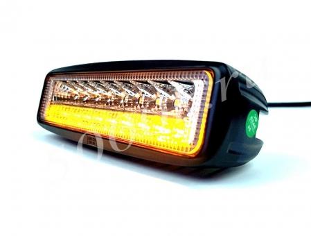 LED фара 30w 2режима Белый+Оранжевый SPOT_0