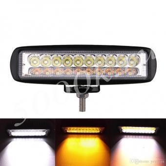 LED фара 30w 2режима Белый+Оранжевый SPOT_1
