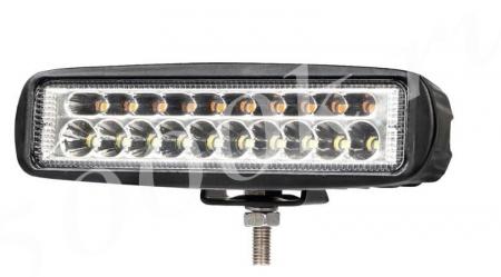 LED фара 30w 2режима Белый+Оранжевый SPOT