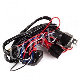 Набор для подключения LED фар 2 режима_3