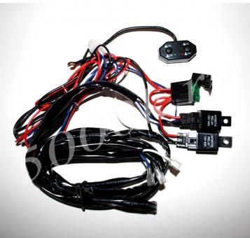 Набор для подключения LED фар 2 режима_2