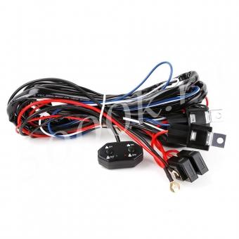 Набор для подключения LED фар 2 режима_1