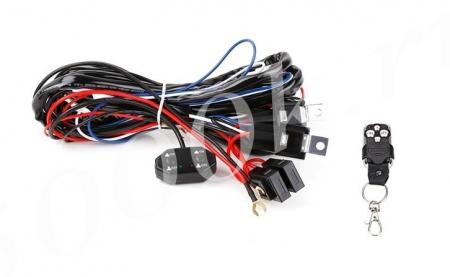 Набор для подключения LED фар 2 режима с ПДУ