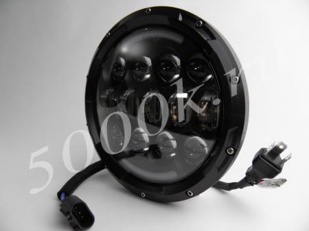 LED фара головного света JH05 BLACK ( 7'') 1ШТ._1