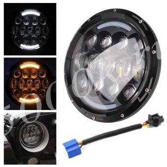 LED фара головного света JH05 BLACK ( 7'') 1ШТ.