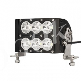 LED фара 60w Дальнего света 16см