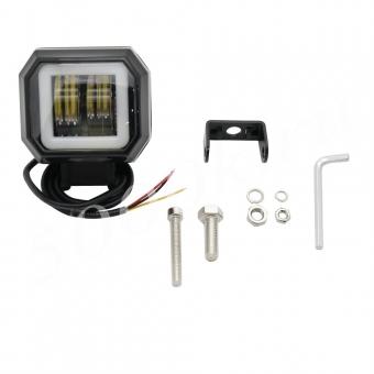 LED фара 20w 72мм_0