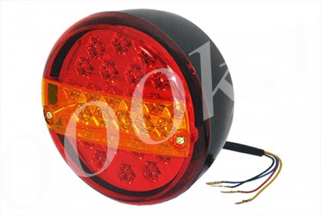 Фонарь LED задний 12/24в левый_0