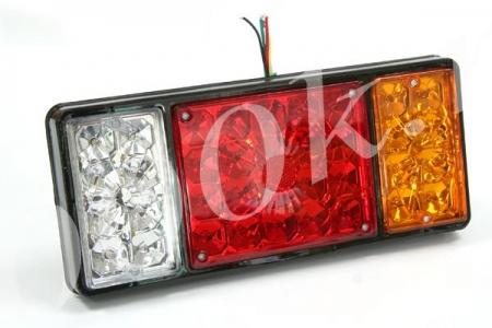 Фонарь LED задний 12/24в универсальный