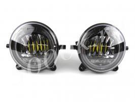 Led фара ПТФ 18w + Ходовые огни (комплект)