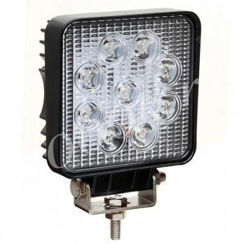 LED фара 27w Slim Дальнего света