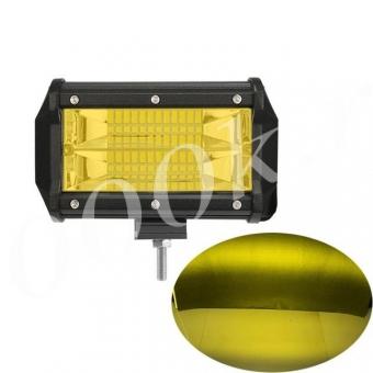 LED фара 24w 2Rows 3000k 13см Пластик