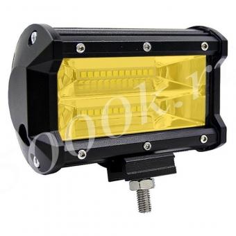 LED фара 24w 2Rows 3000k 13см Пластик_1