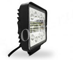 LED фара 40w Flood + STROBO 110мм_2