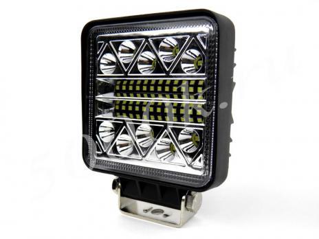 LED фара 40w Flood + STROBO 110мм