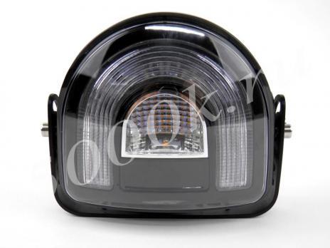 LED фара 18w (Зона безопасности) RED + YELLOW STROBO