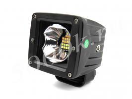 LED фара 16w ближнего света (2 режима) 80мм