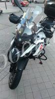 Дополнительный ветровик для мотоцикла прозрачный 300мм_2
