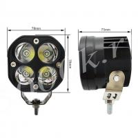 LED фара 40w spot 78мм_1