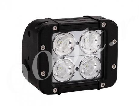 LED балка 40w CREE 10w Ближнего света 12см