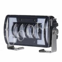 LED фара 24w + DRL 12см