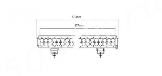 LED балка 468w Combo 88см