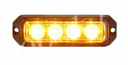 Спецсигнал желтый стробоскоп 12-24v